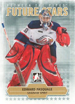 2009-10 Between The Pipes #63 Edward Pasquale
