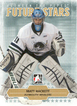 2009-10 Between The Pipes #66 Matt Hackett