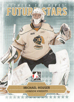 2009-10 Between The Pipes #67 Michael Houser