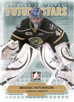2009-10 Between The Pipes #68 Michael Hutchinson