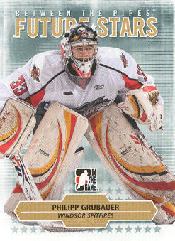 2009-10 Between The Pipes #71 Philipp Grubauer