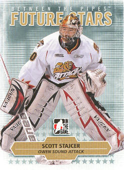 2009-10 Between The Pipes #73 Scott Stajcer