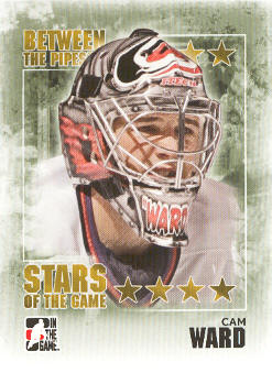 2009-10 Between The Pipes #77 Cam Ward