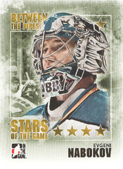 2009-10 Between The Pipes #80 Evgeni Nabokov