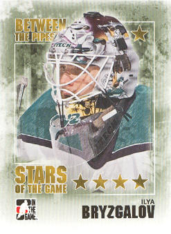2009-10 Between The Pipes #81 Ilya Bryzgalov