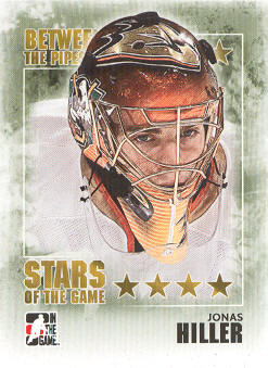 2009-10 Between The Pipes #85 Jonas Hiller