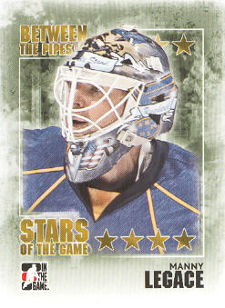 2009-10 Between The Pipes #88 Manny Legace