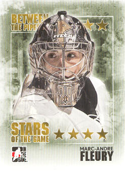 2009-10 Between The Pipes #89 Marc-Andre Fleury
