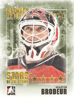 2009-10 Between The Pipes #90 Martin Brodeur