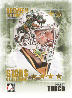 2009-10 Between The Pipes #91 Marty Turco