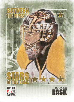 2009-10 Between The Pipes #94 Tuukka Rask
