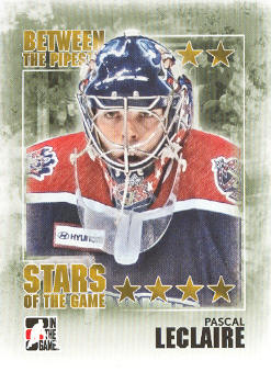 2009-10 Between The Pipes #96 Pascal Leclaire