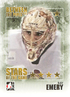 2009-10 Between The Pipes #97 Ray Emery