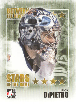 2009-10 Between The Pipes #98 Rick DiPietro
