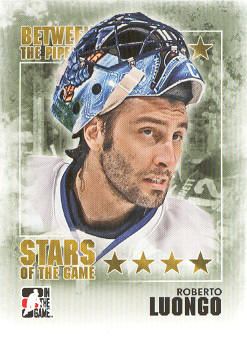 2009-10 Between The Pipes #99 Roberto Luongo