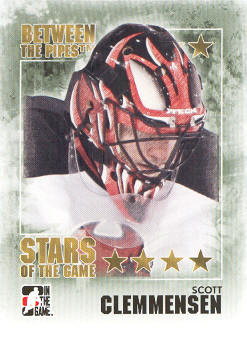 2009-10 Between The Pipes #101 Scott Clemmensen