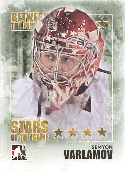2009-10 Between The Pipes #102 Simeon Varlamov