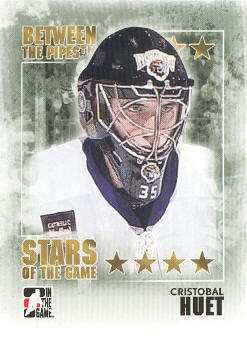 2009-10 Between The Pipes #103 Cristobal Huet