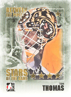 2009-10 Between The Pipes #104 Tim Thomas