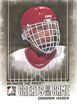 2009-10 Between The Pipes #115 Dominik Hasek