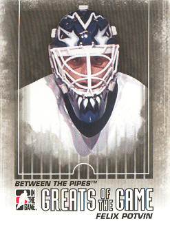 2009-10 Between The Pipes #119 Felix Potvin