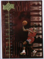 1999 Upper Deck Michael Jordan Athlete of the Century Extreme Air #EA11 Michael Jordan