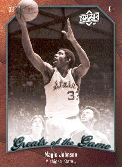 2009-10 Greats of the Game #39 Magic Johnson