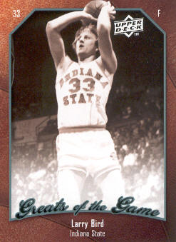 2009-10 Greats of the Game #42 Larry Bird