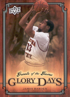 2009-10 Greats of the Game #90 James Harden GD