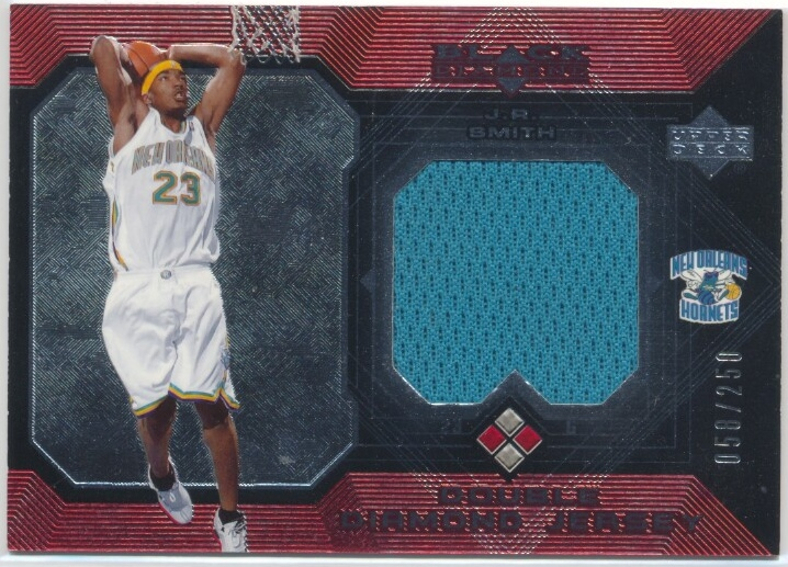 2004-05 Black Diamond Jerseys Double Diamond #JR J.R. Smith