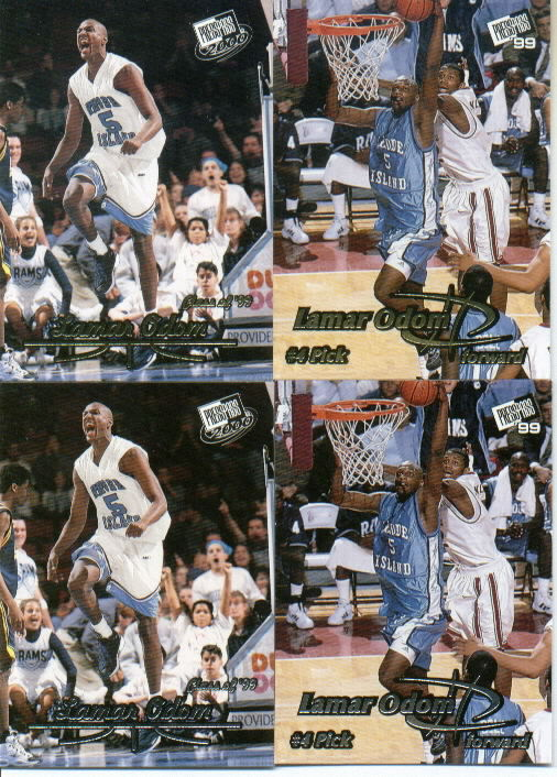 2000 Press Pass #36, Lamar Odom