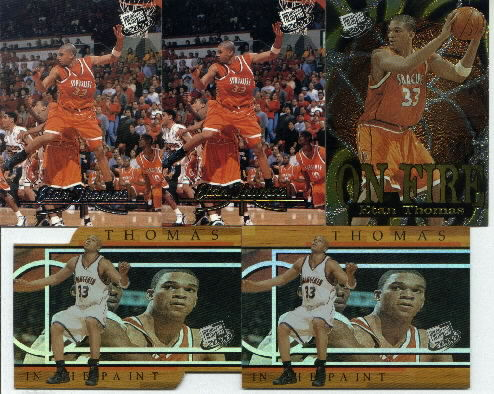 2000 Press Pass In the Paint Die Cut #IP8, Etan Thomas