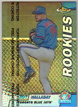 1999 Finest Refractors #140 Roy Halladay
