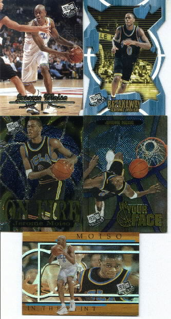 2000 Press Pass Gold Zone #7, Jerome Moiso