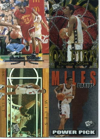 2000 Press Pass On Fire #OF2, Darius Miles