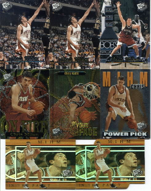 2000 Press Pass Gold Zone #1, Chris Mihm CL