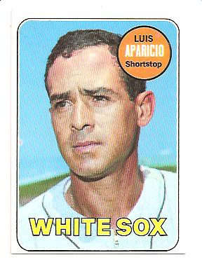 1969 Topps #75 Luis Aparicio