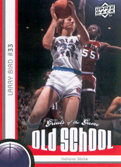 2009-10 Greats of the Game #152 Larry Bird OS