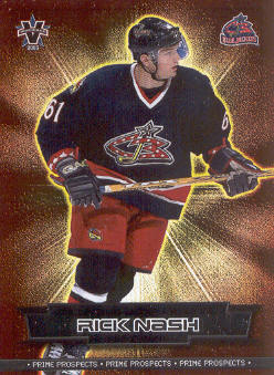 2002-03 Vanguard Prime Prospects #8 Rick Nash