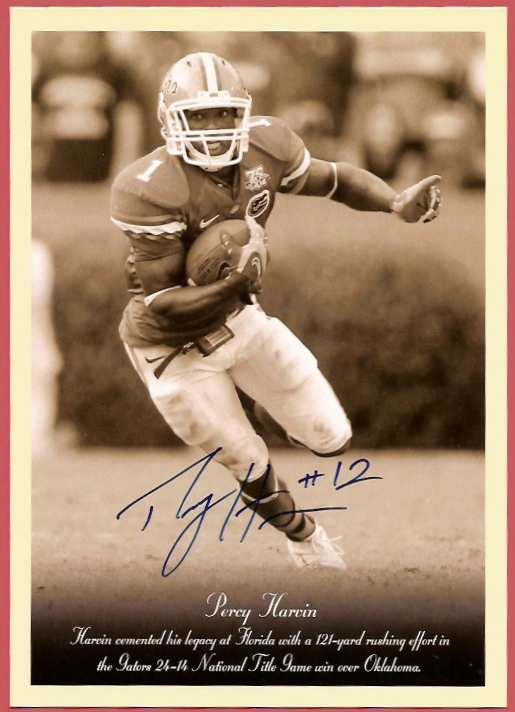 2009 Philadelphia Jumbos Autographs #RC40 Percy Harvin