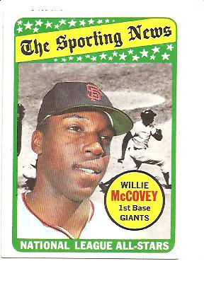1969 Topps #416 Willie McCovey AS front image