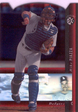 1994 SP Holoviews Die Cuts #29 Mike Piazza