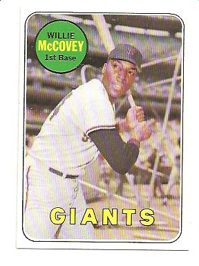 1969 Topps #440A Willie McCovey