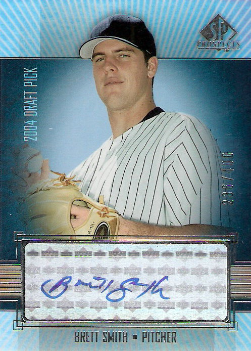 2004 SP Prospects #433 Brett Smith AU/400 RC