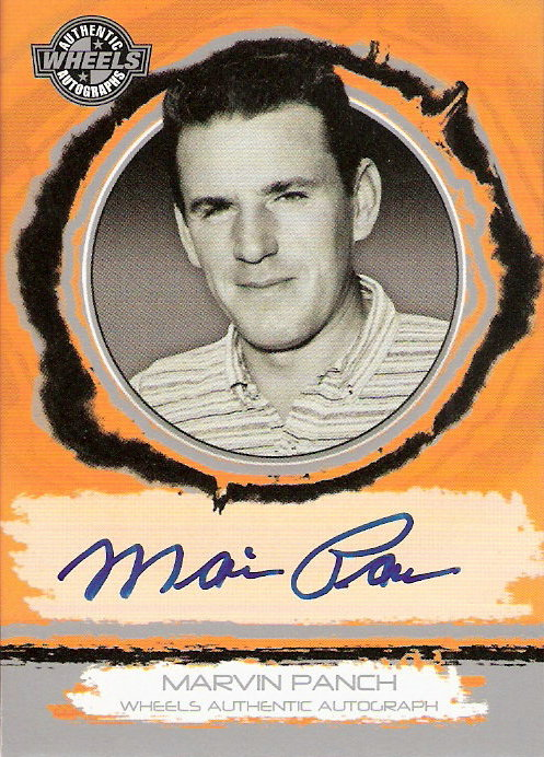 2006 Wheels Autographs #45 Marvin Panch