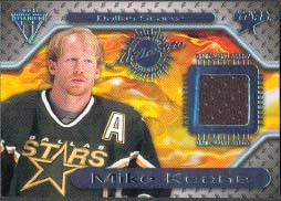 2000-01 Pacific Private Stock Titanium Game Gear Jersey #85, Mike Keane