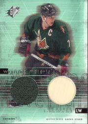2000-01 SPx Winning Materials Update #W-RK, Keith Tkachuk