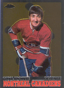 2001-02 Topps Chrome Reprints #7 Guy Lapointe