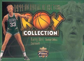 2001-02 Fleer Focus ROY Collection #10 Larry Bird