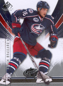 2009-10 SP Game Used #31 Derick Brassard